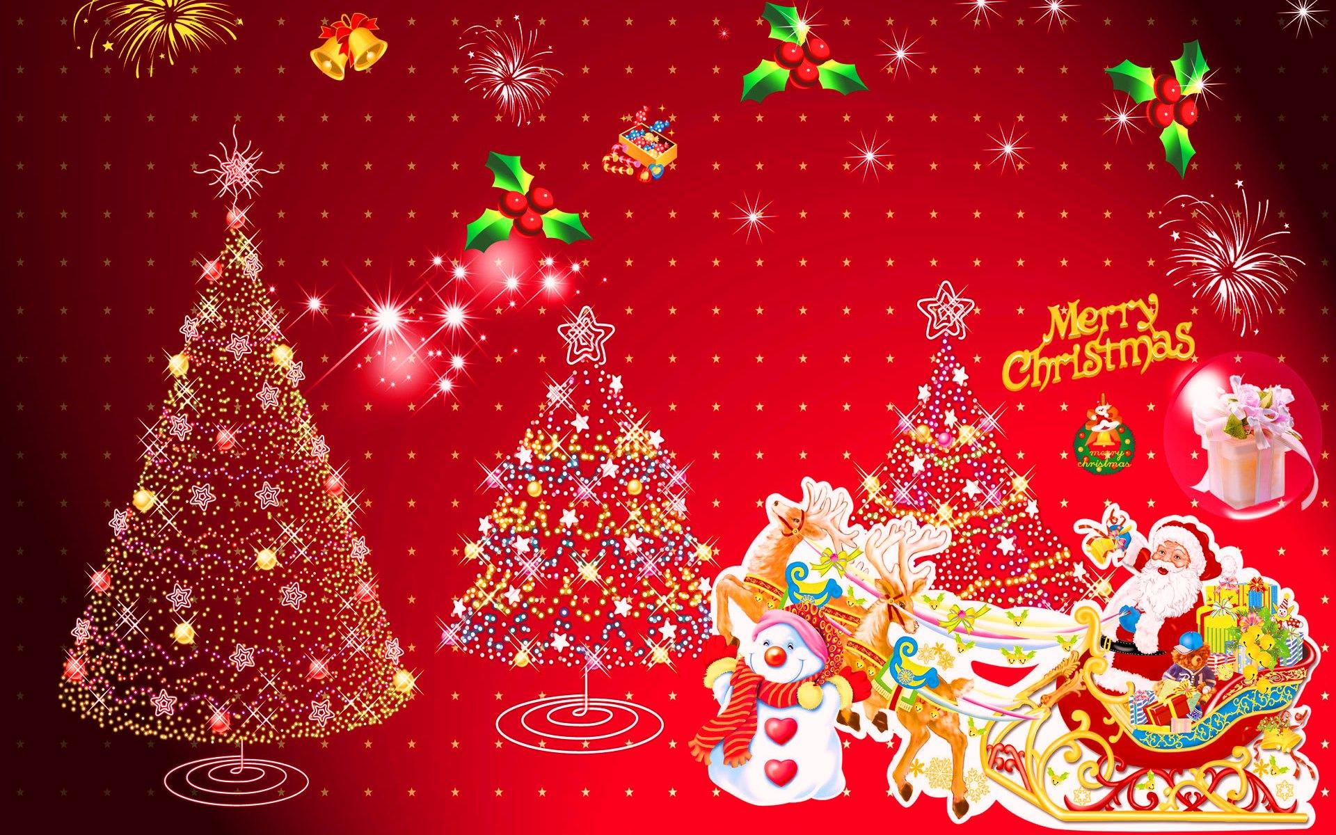 Веселого Рождества - C Рождеством Христовым поздравительные картинки