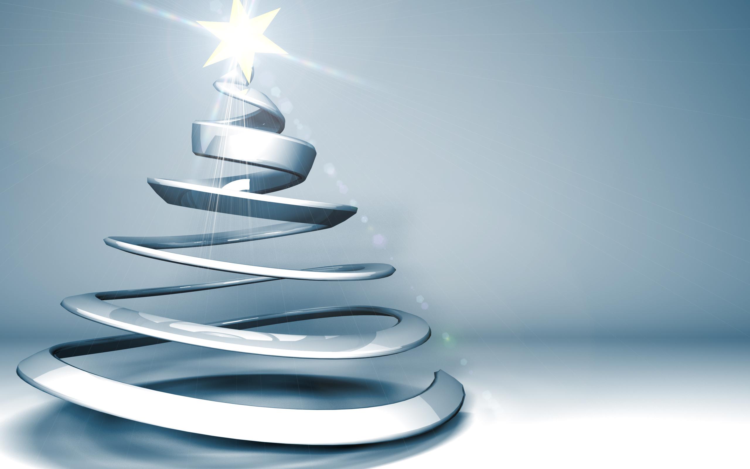 Елка пружина - C Рождеством Христовым поздравительные картинки