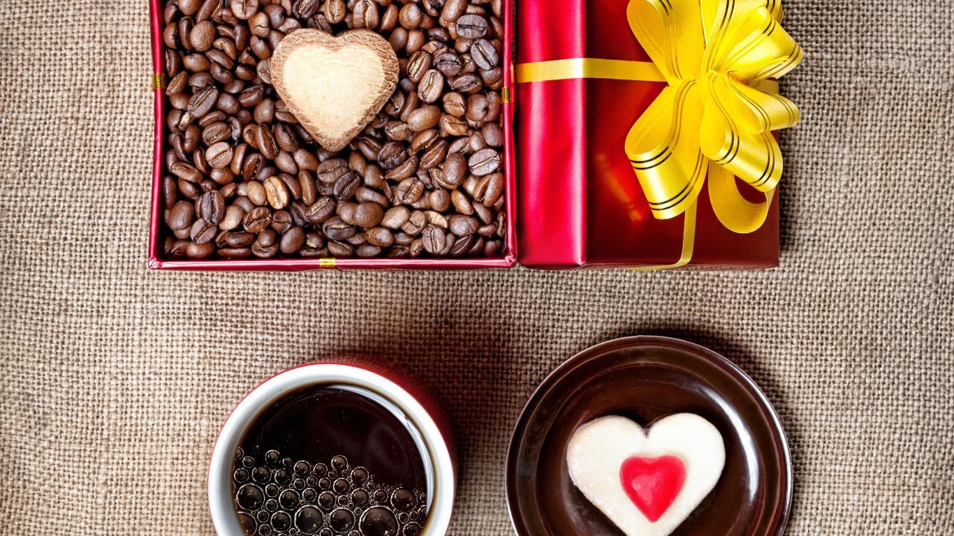 Подарок на день Св. Валентина - С днем Святого Валентина поздравительные картинки