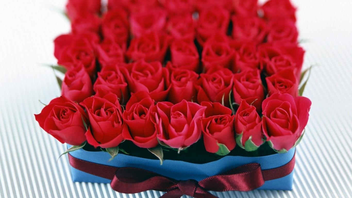 Розы в подарок на 8 марта - C 8 марта поздравительные картинки