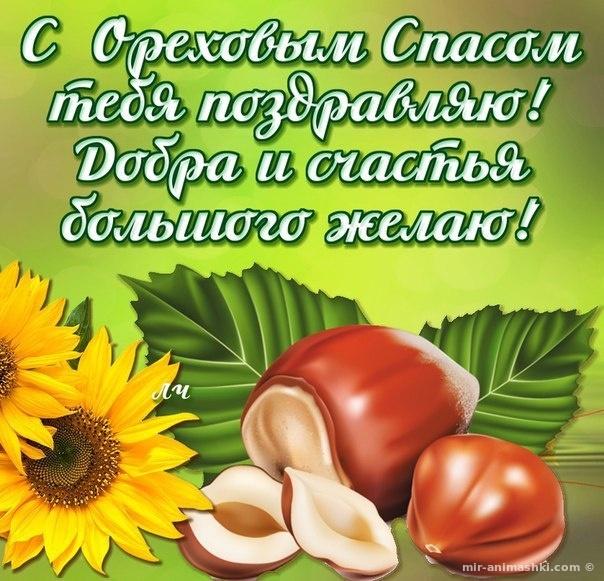 С Ореховым Спасом тебя поздравляю - С Ореховым и Хлебным Спасом поздравительные картинки