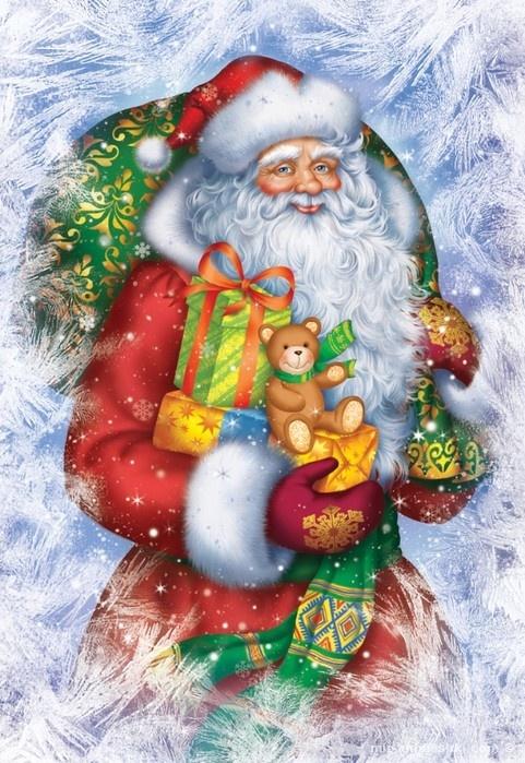Дед Мороз - Дед Мороз и Снегурочка поздравительные картинки