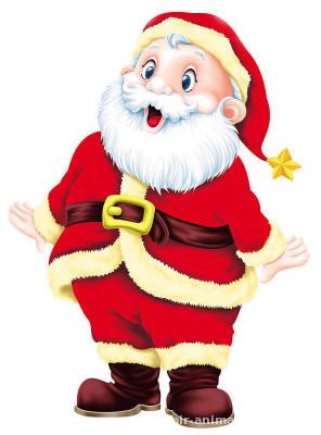 Удивлённый Дед Мороз - Дед Мороз и Снегурочка поздравительные картинки