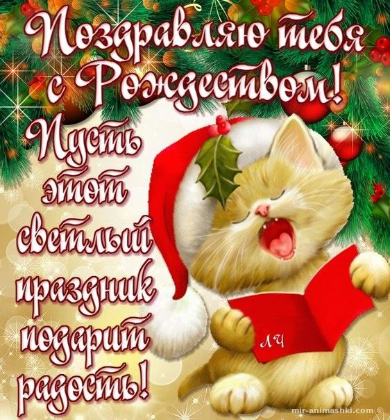 Поздравляю тебя с Рождеством - C Рождеством Христовым поздравительные картинки