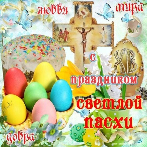 Милая открытка С Пасхой - C Пасхой поздравительные картинки