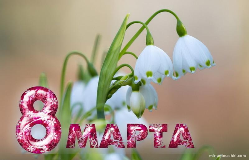 Открытка с 8 марта - C 8 марта поздравительные картинки