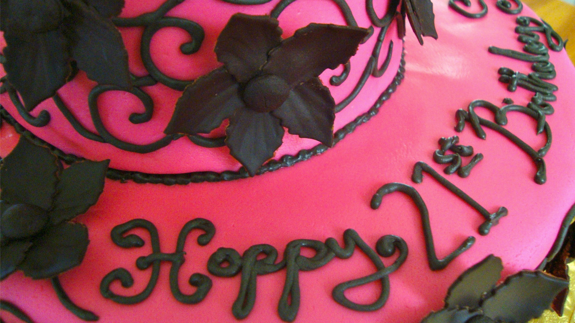 Двадцать первый день рождения - С Днем Рождения поздравительные картинки