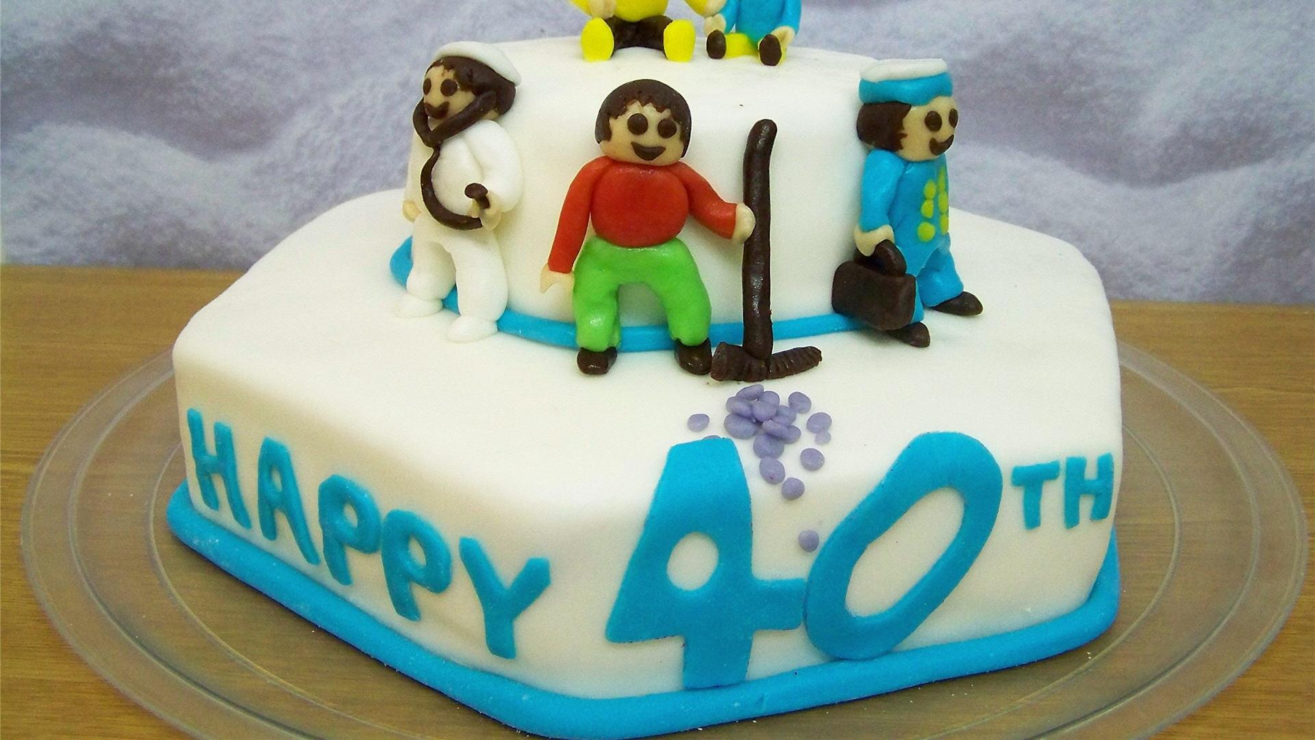 Сороковой день рождения - С Днем Рождения поздравительные картинки