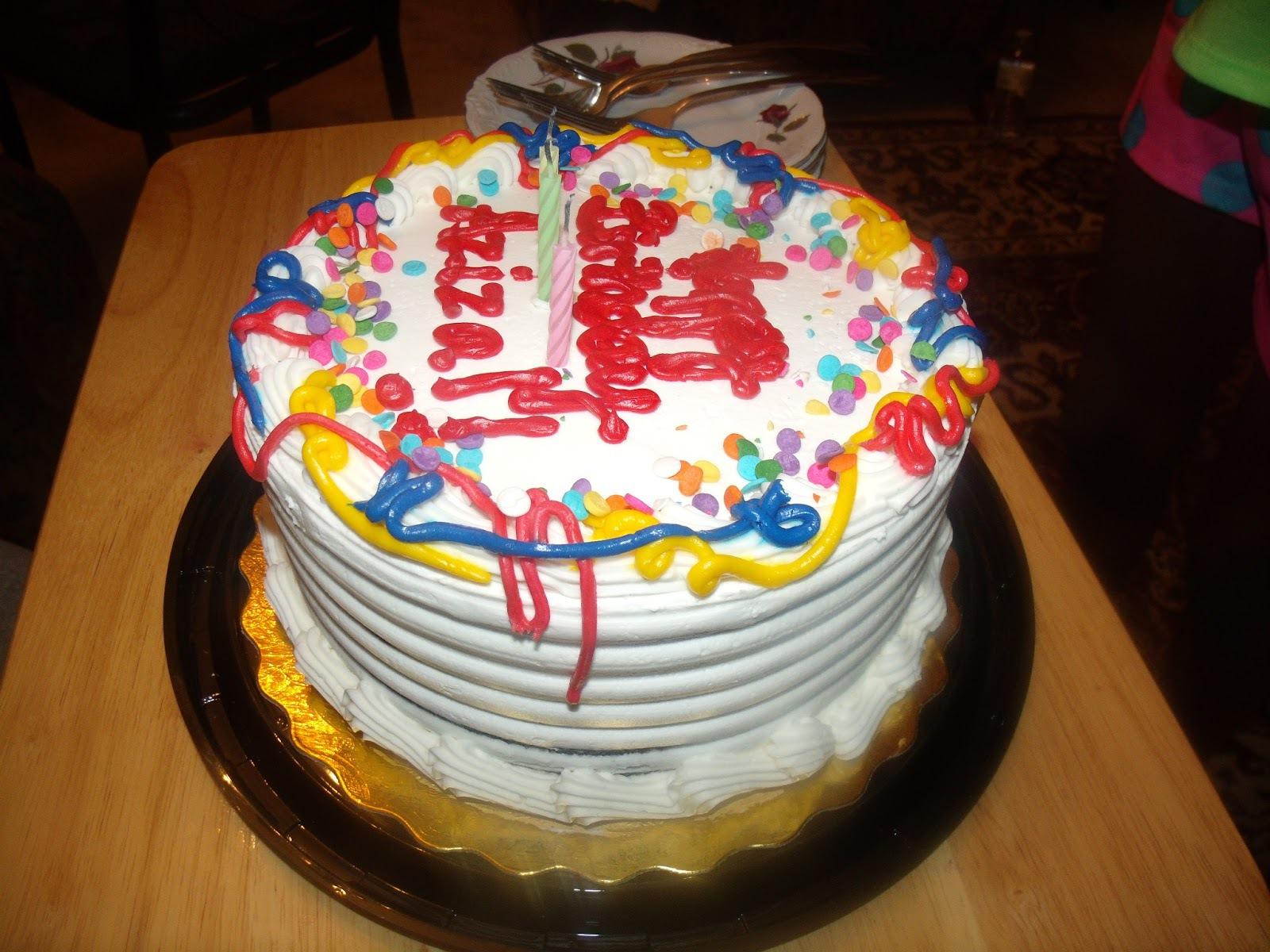 Удивительный торт ко дню рождения - С Днем Рождения поздравительные картинки