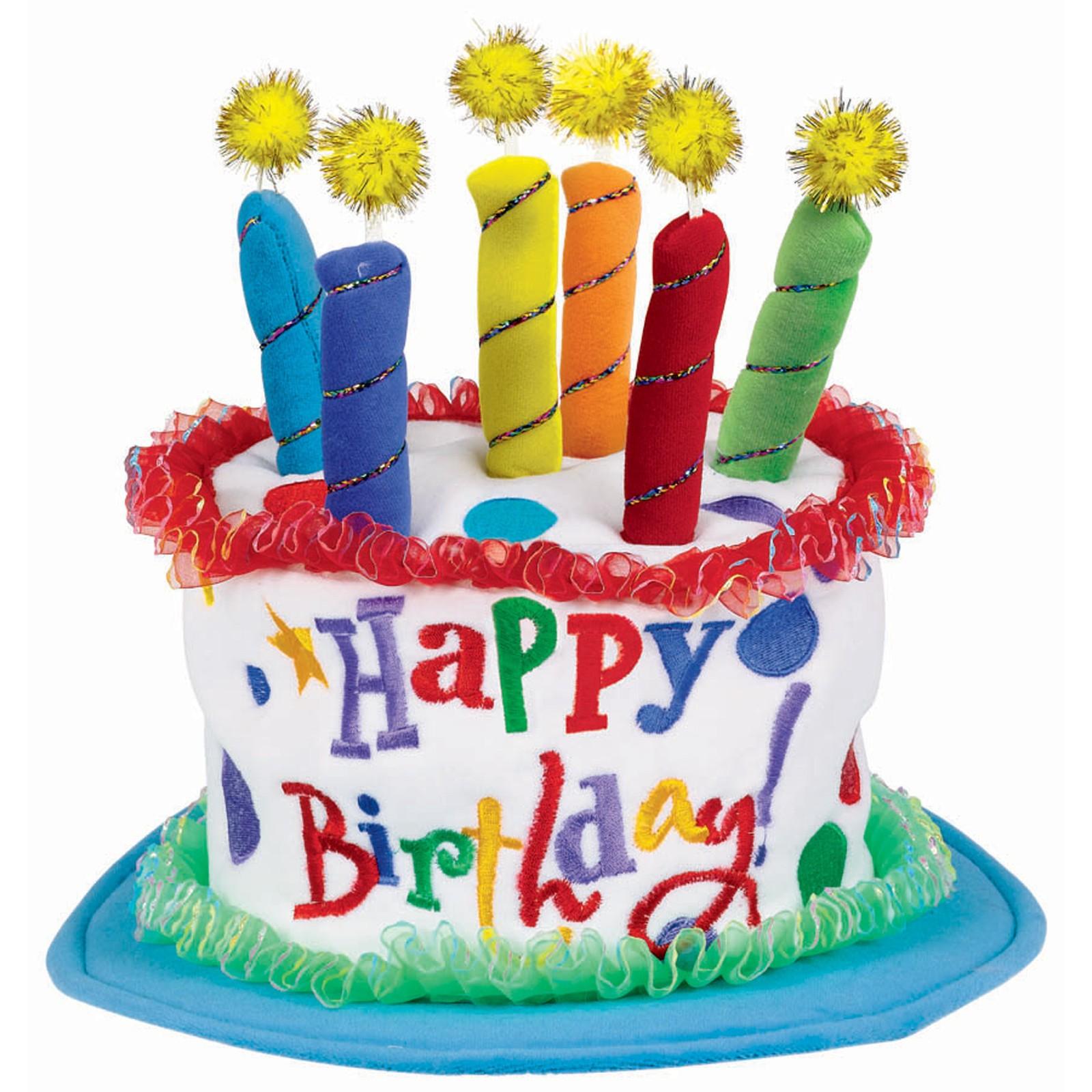 Красочный торт на день рождения - С Днем Рождения поздравительные картинки