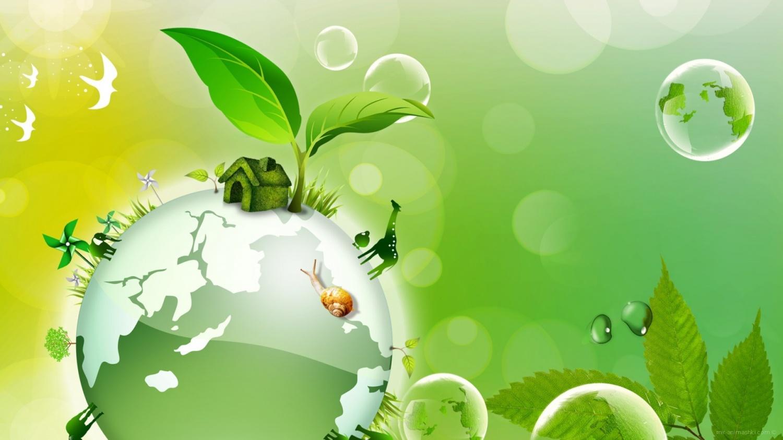 Поздравительная открытка на День экологических знаний - 15 апреля 2021