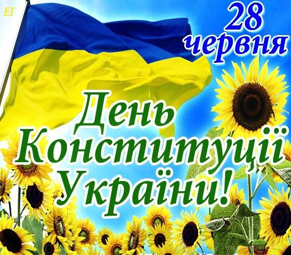 День Конституции Украины - 28 июня 2019