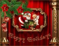 Happy Holidays - С наступающим 2022 Новым годом открытки и картинки