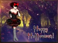 Анимированные открытки на Хэллоуин - Хэллоуин открытки и картинки