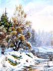 Снежная анимашка для телефона - Блестяшки на телефон открытки и картинки