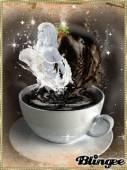 Любовь с ароматом кофе - Блестяшки на телефон открытки и картинки
