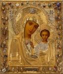 Казанская икона Божьей Матери - Казанская икона открытки и картинки