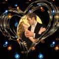 Любовь в сердце - Любовь и романтика открытки и картинки