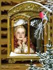 Снегирь на веточке - Зима открытки и картинки