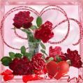 Открытка с цветами - Розы открытки и картинки