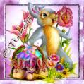 Пасхальный кролик - Пасха открытки и картинки