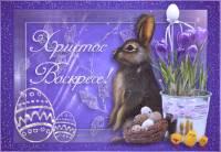 Католическая Пасха (кролик) - Пасха открытки и картинки