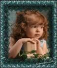 задумчивая девочка - Детишки открытки и картинки