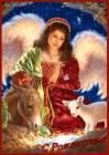 C Рождеством ангел - Рождество Христово открытки и картинки