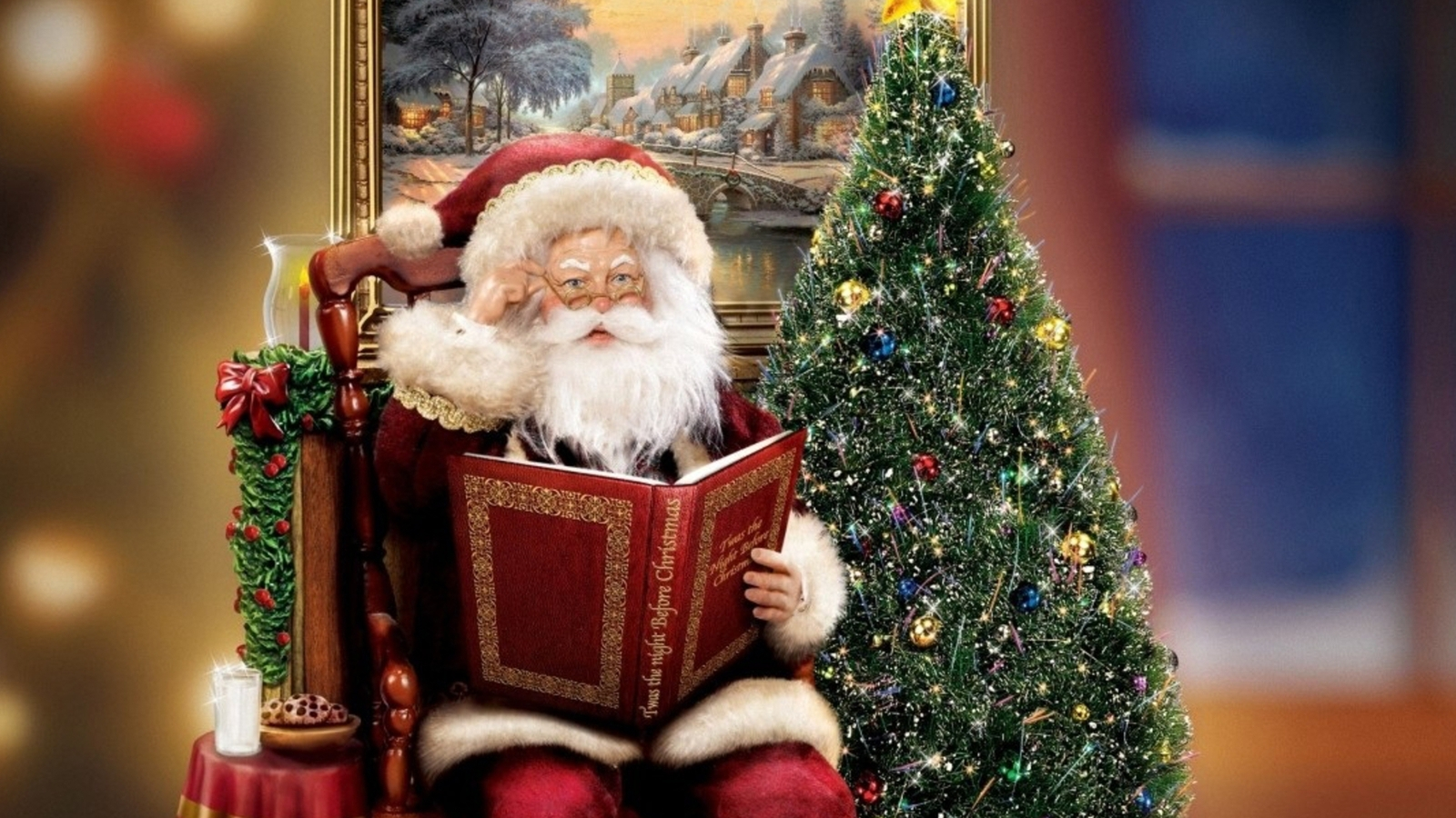 Домашний дед Мороз - C наступающим новым годом 2017 поздравительные картинки