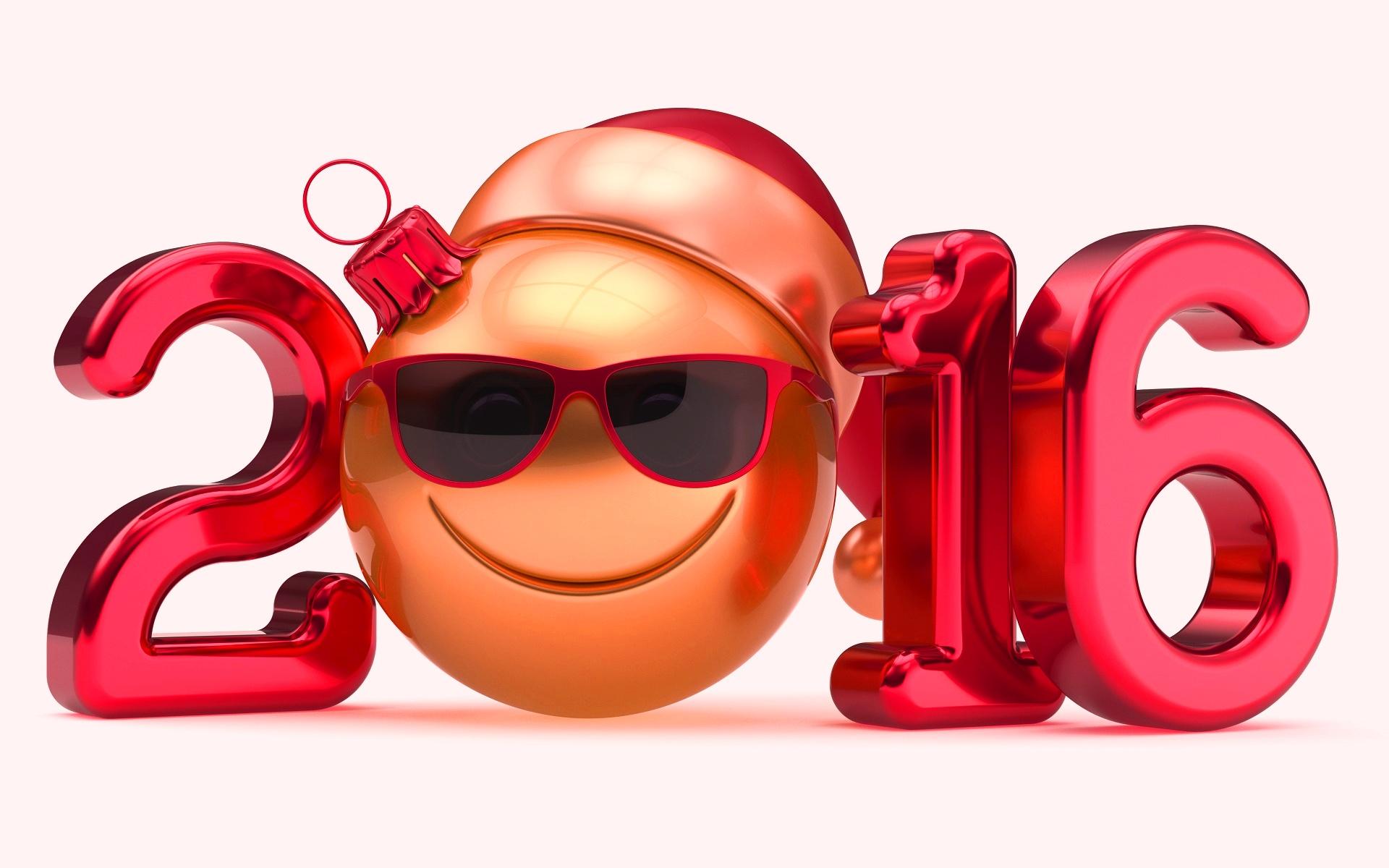 Новогодний смайл - C Новым годом  2019 поздравительные картинки