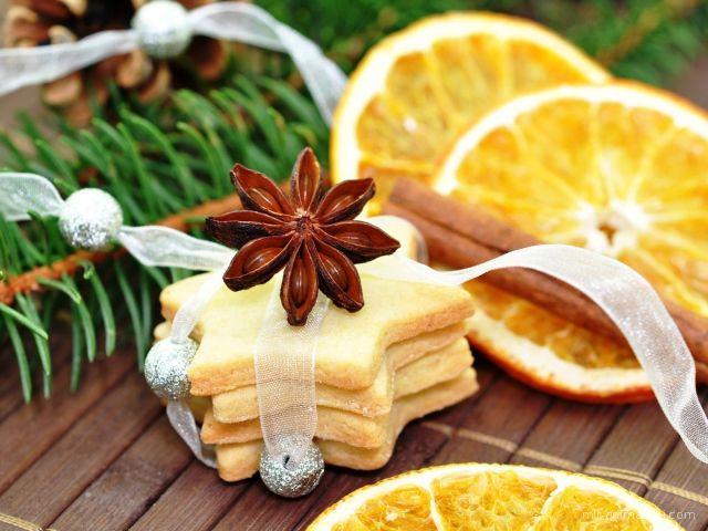 Печенье на Рождество - C Рождеством Христовым поздравительные картинки