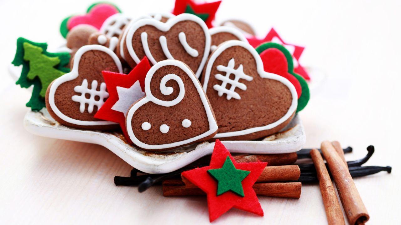 Рождественские сладости - C Рождеством Христовым поздравительные картинки