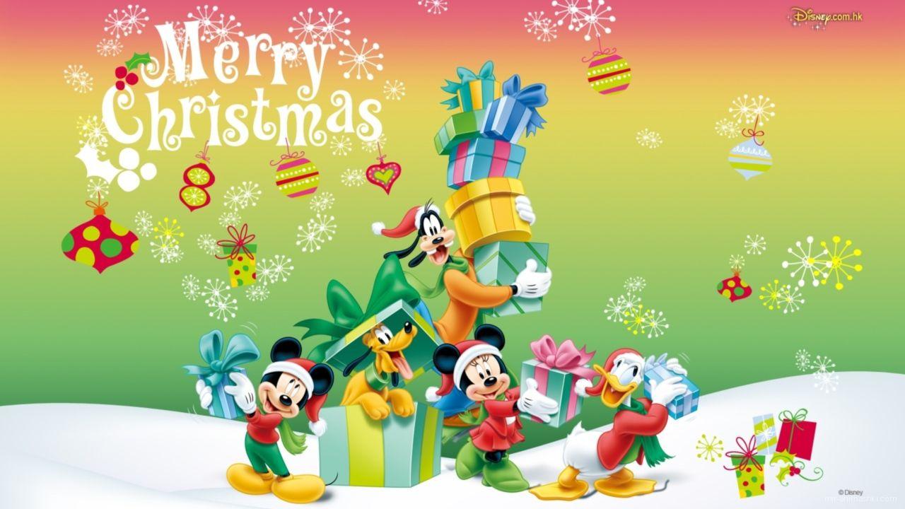 Герои мультфильмов на рождество - C Рождеством Христовым поздравительные картинки