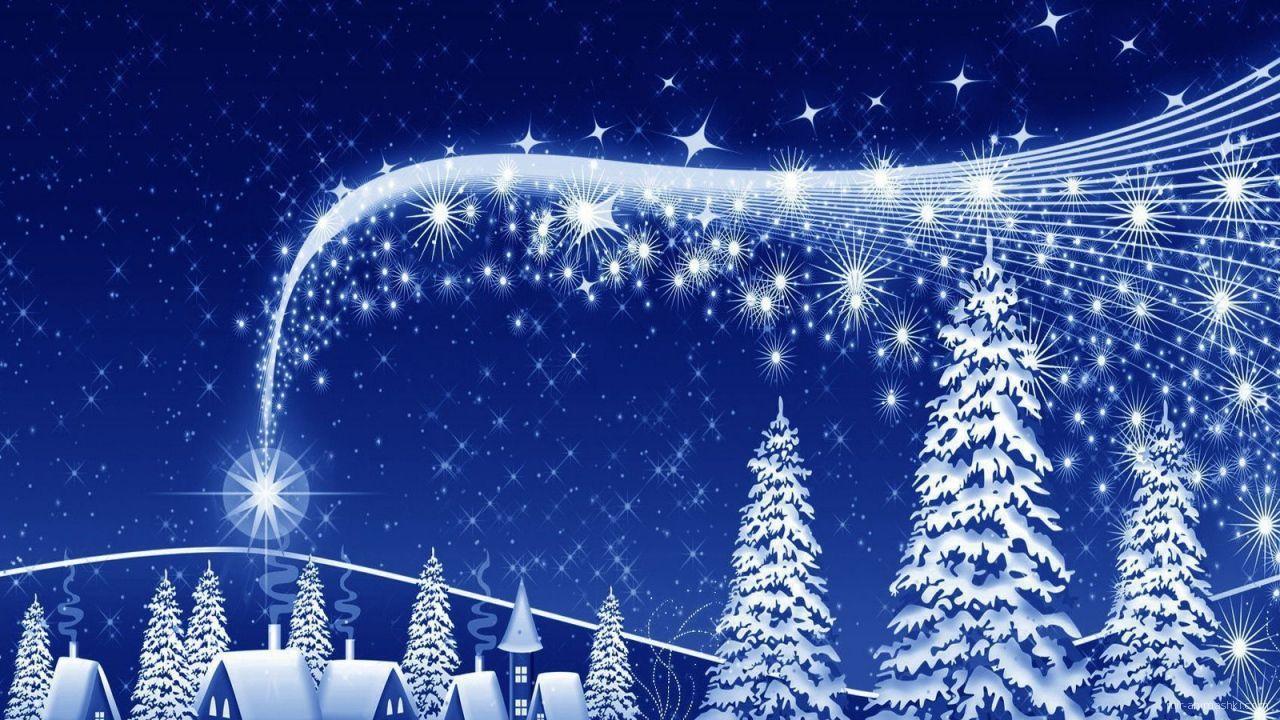 Рождественский рисунок - C Рождеством Христовым поздравительные картинки