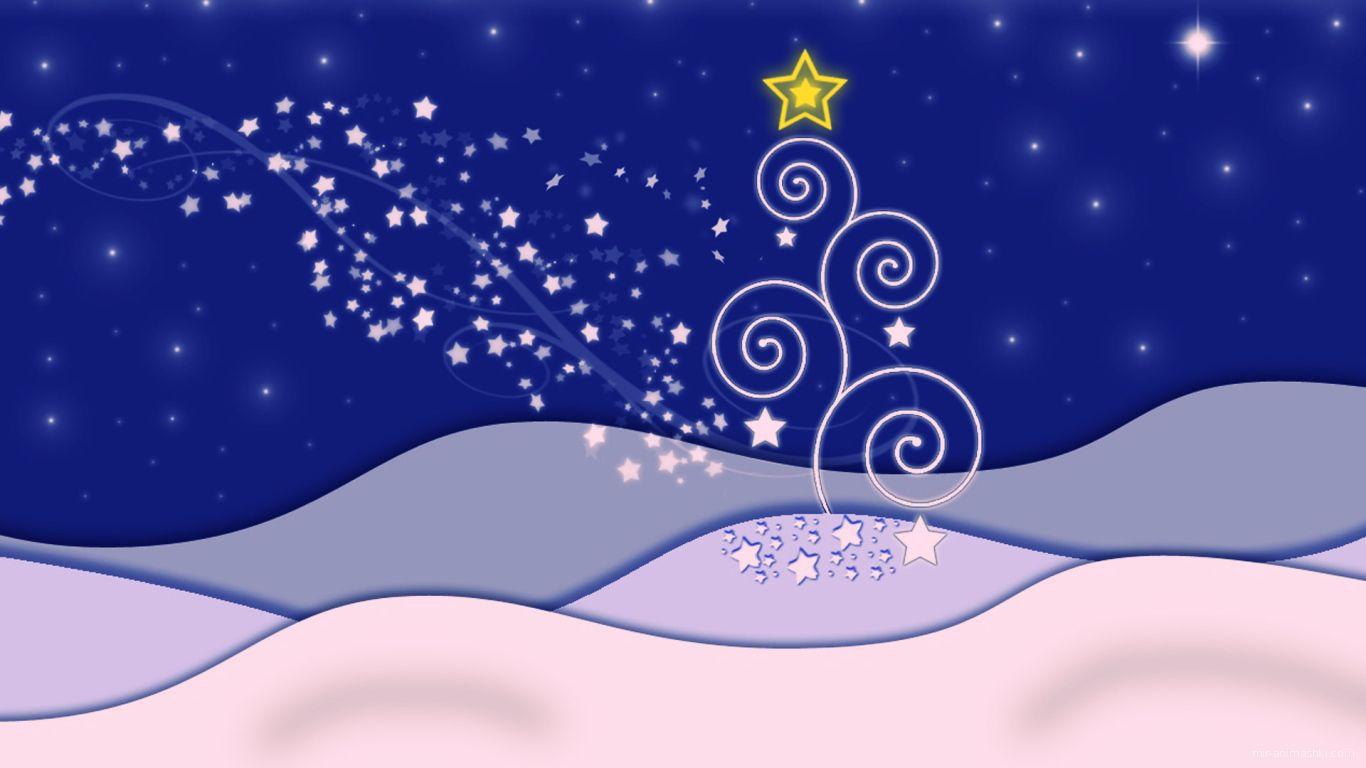Картинка в голубых тонах на рождество - C Рождеством Христовым поздравительные картинки