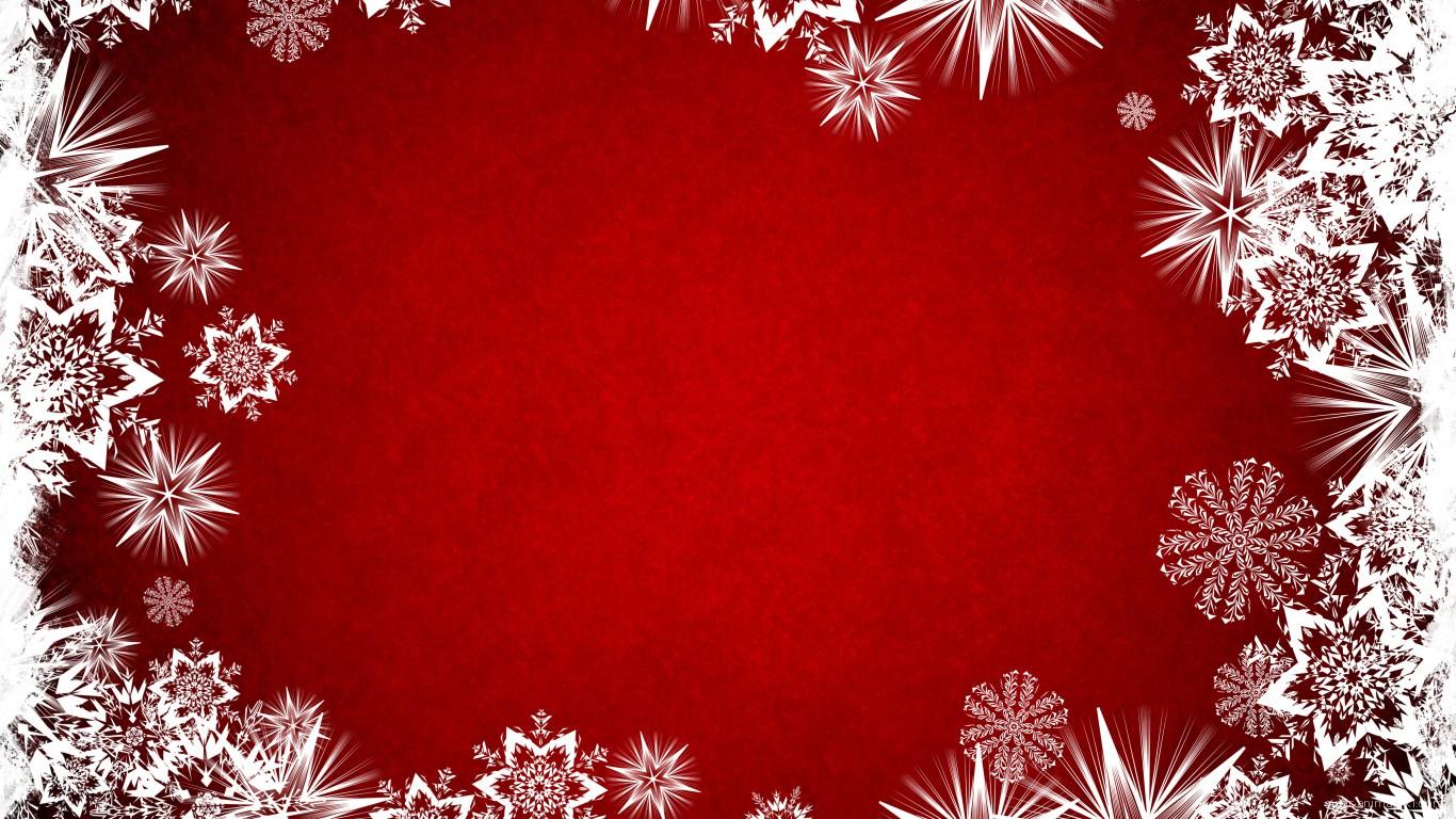 Белые звёзды на красном фоне на рождество - C Рождеством Христовым поздравительные картинки