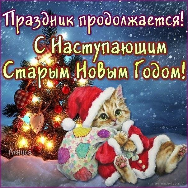 Наступающий старым новы годом! - Cо Старым Новым годом поздравительные картинки