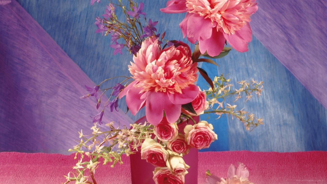 Розовая фантазия к дню Валентина - С днем Святого Валентина поздравительные картинки