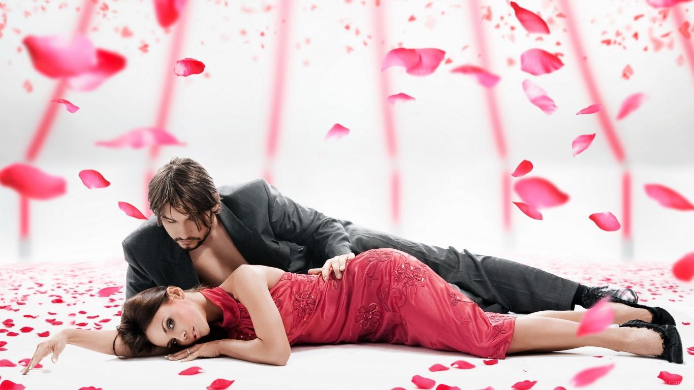 Влюбленная парочка на День Святого Валентина 14 февраля - С днем Святого Валентина поздравительные картинки