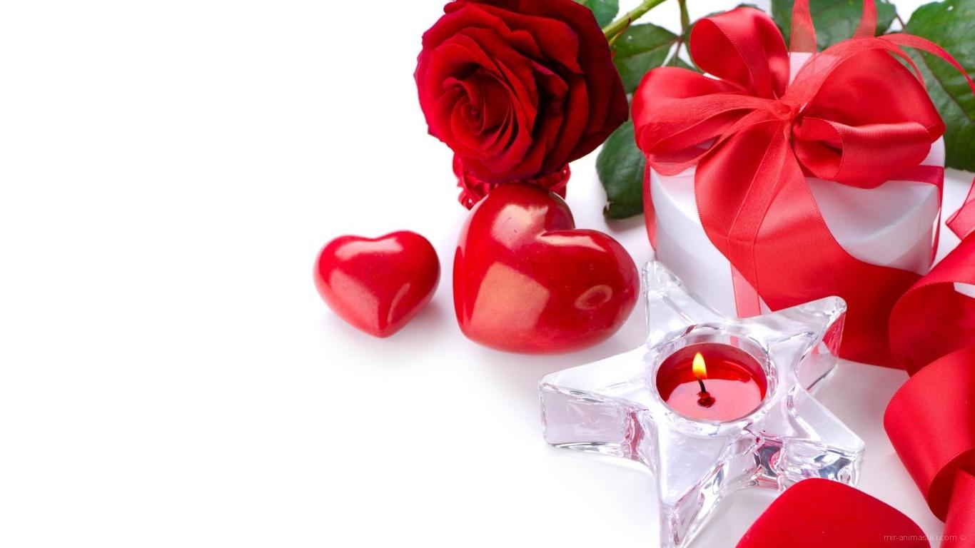 Изумительный букет на День Святого Валентина - С днем Святого Валентина поздравительные картинки