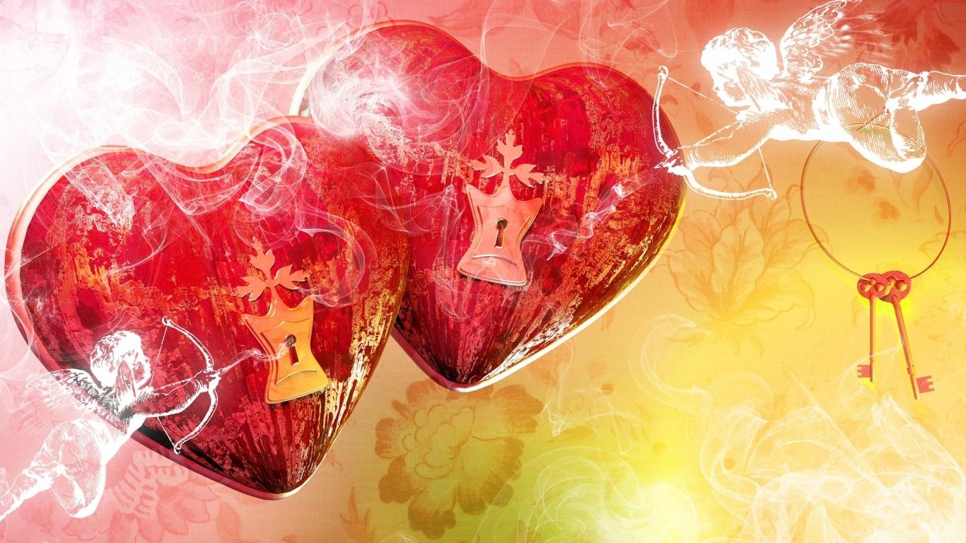 День Влюбленных - С днем Святого Валентина поздравительные картинки