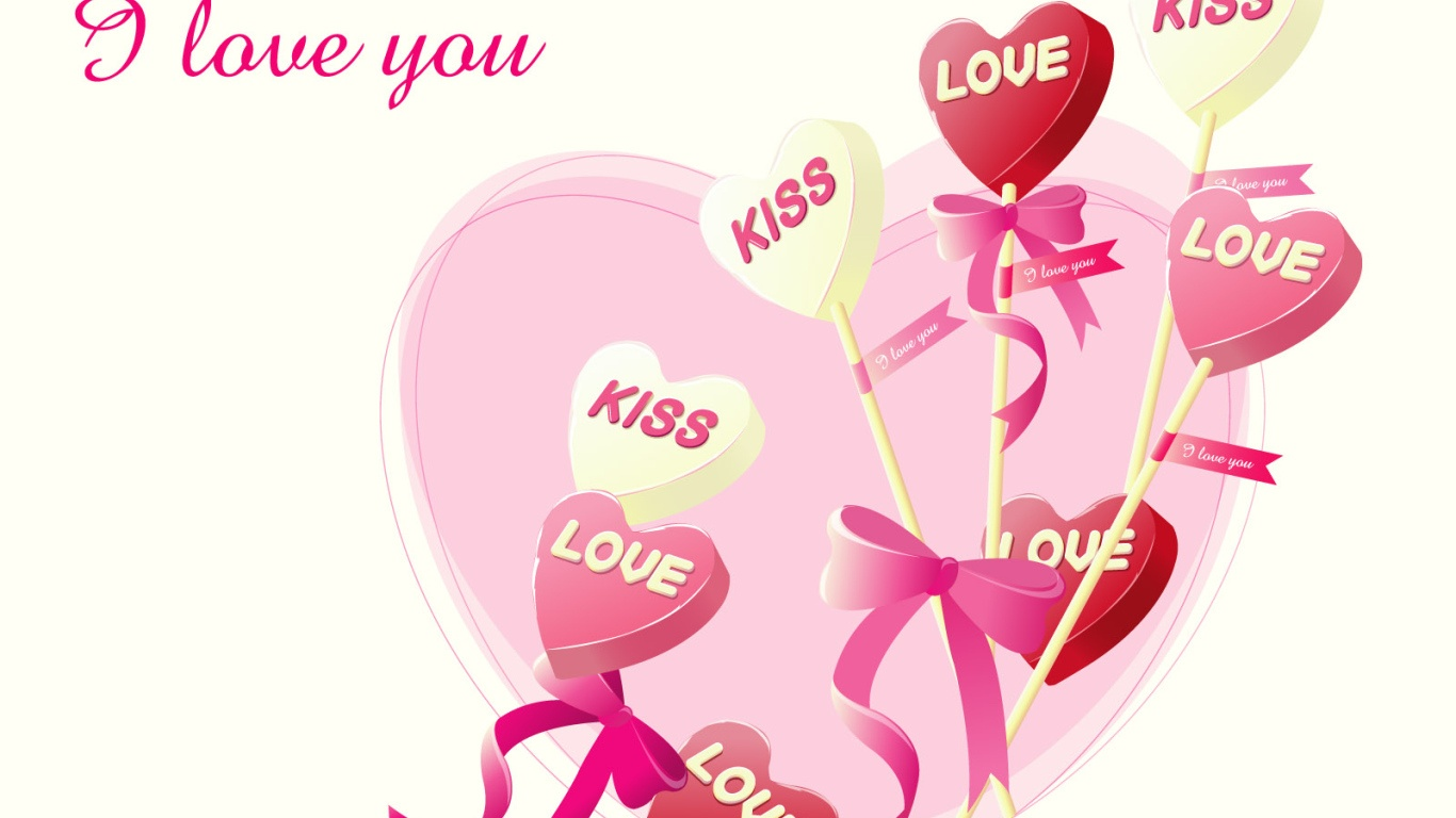 Сладости в День Святого Валентина - С днем Святого Валентина поздравительные картинки