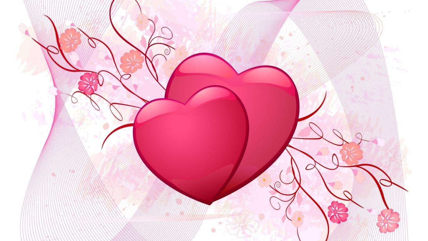 Любви все возрасты покорны - С днем Святого Валентина поздравительные картинки