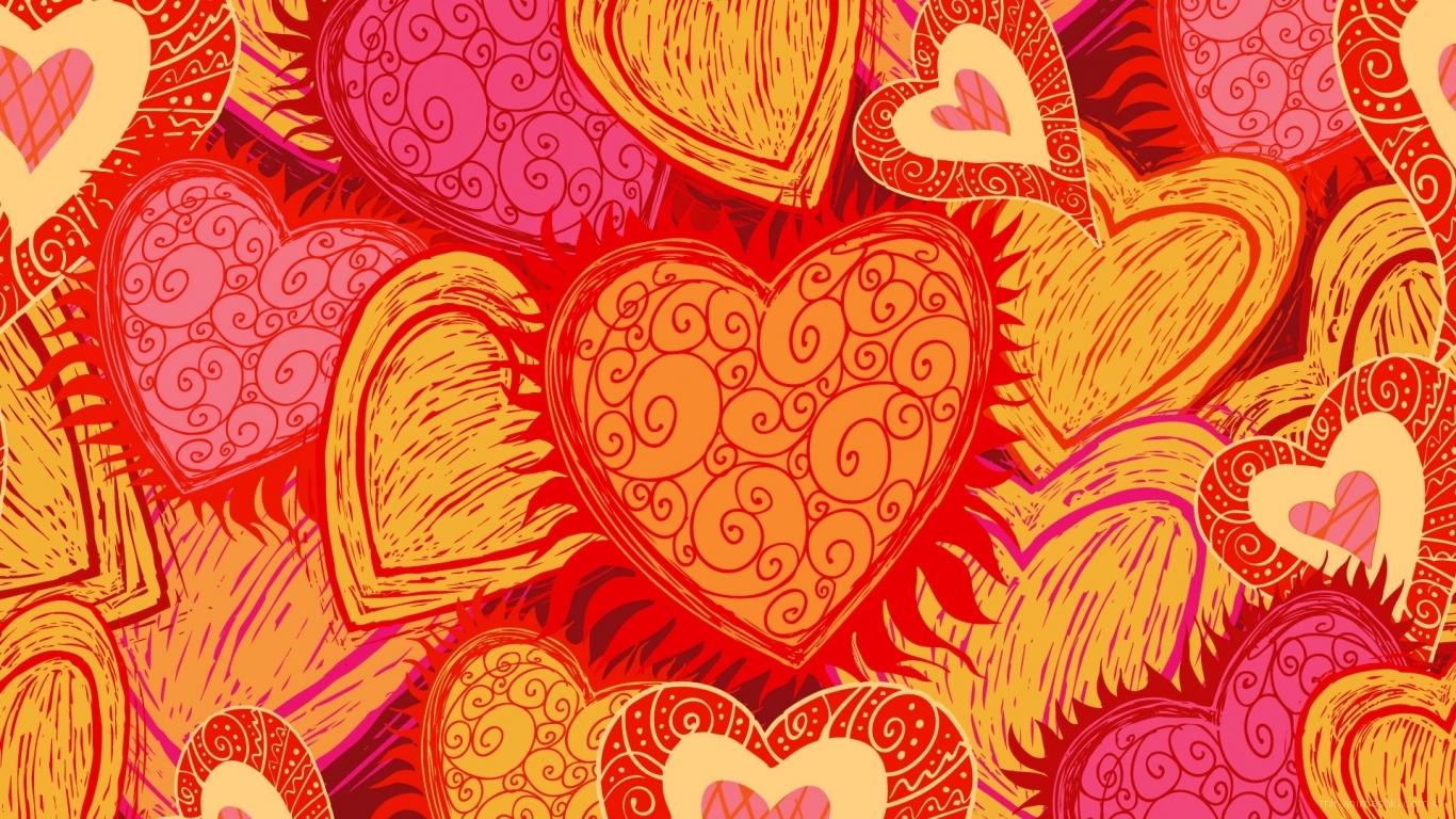 Художественная картина День Св. Валентина - С днем Святого Валентина поздравительные картинки