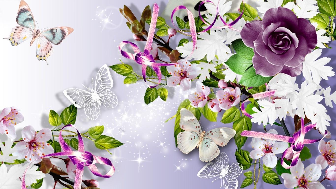 Бабочка картинка для открытки 48