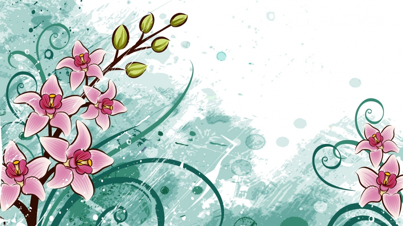 Цветы к 8 Марта - C 8 марта поздравительные картинки