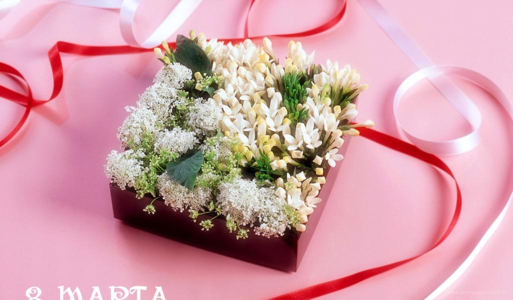 Милый подарок на 8 марта - C 8 марта поздравительные картинки