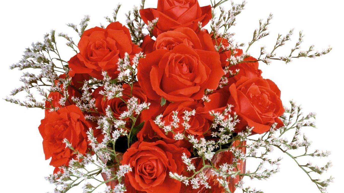 Дизайнерский букет роз на 8 марта - C 8 марта поздравительные картинки