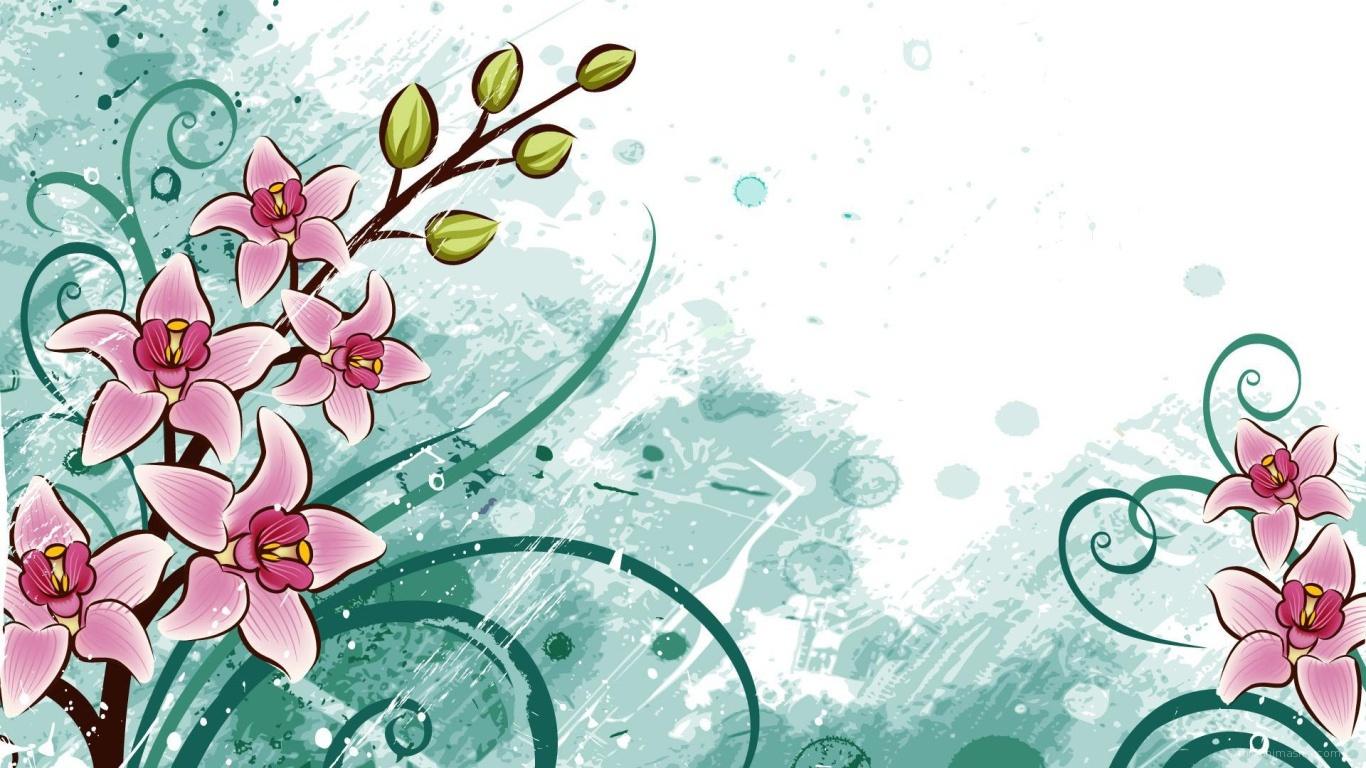 Первые цветы в подарок на 8 марта - C 8 марта поздравительные картинки