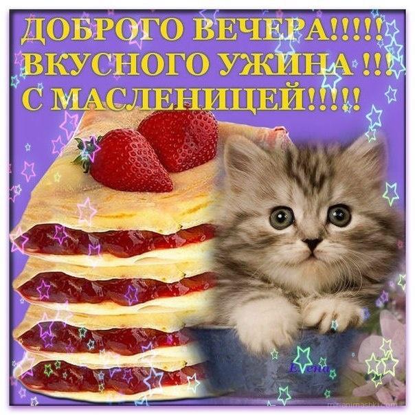 Прикольная открытка с Масленицей - С Масленицей поздравительные картинки